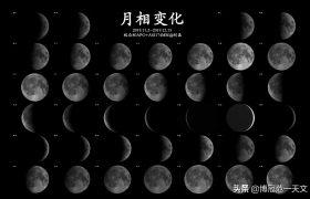 举头望明月?观月第一步:先了解月相变迁,以免贻笑大方